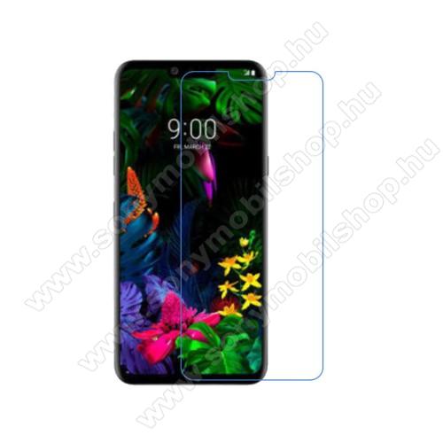 Képernyővédő fólia - Ultra Clear - 1db, törlőkendővel - LG G8 ThinQ Dual kamerás / LG G8 ThinQ Tripla kamerás