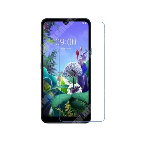 LG K50 Képernyővédő fólia - Ultra Clear - 1db, törlőkendővel - LG Q60 / LG K50