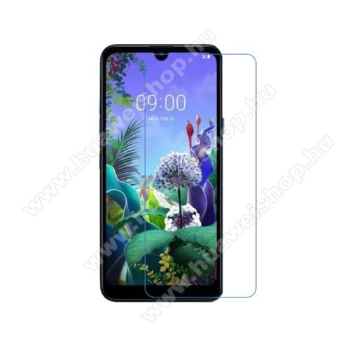 Képernyővédő fólia - Ultra Clear - 1db, törlőkendővel - LG Q60