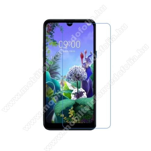 Képernyővédő fólia - Ultra Clear - 1db, törlőkendővel - LG Q60 / LG K50