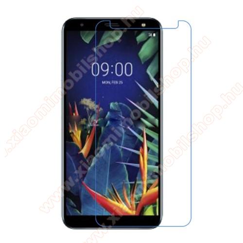 Képernyővédő fólia - Ultra Clear - 1db, törlőkendővel - LG K40 / LG K12 Plus