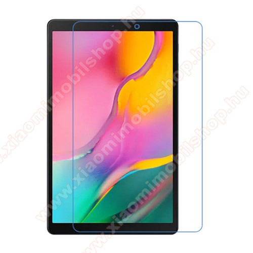 Képernyővédő fólia - Ultra Clear - 1db, törlőkendővel - SAMSUNG Galaxy Tab A 10.1 Wi-Fi (2019) (SM-T510) / SAMSUNG Galaxy Tab A 10.1 LTE (2019) (SM-T515)