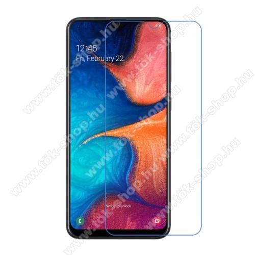 Képernyővédő fólia - Ultra Clear - 1db, törlőkendővel - SAMSUNG SM-A202F Galaxy A20e