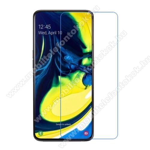 SAMSUNG SM-A905F Galaxy A90Képernyővédő fólia - Ultra Clear - 1db, törlőkendővel - SAMSUNG SM-A805F Galaxy A80 / SAMSUNG SM-A905F Galaxy A90