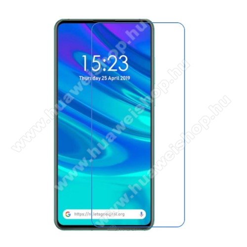 Képernyővédő fólia - Ultra Clear - 1db, törlőkendővel - HUAWEI P Smart Z / HUAWEI Y9 Prime (2019) / HUAWEI Enjoy 10 Plus / HUAWEI Honor 9X (For Global Market)