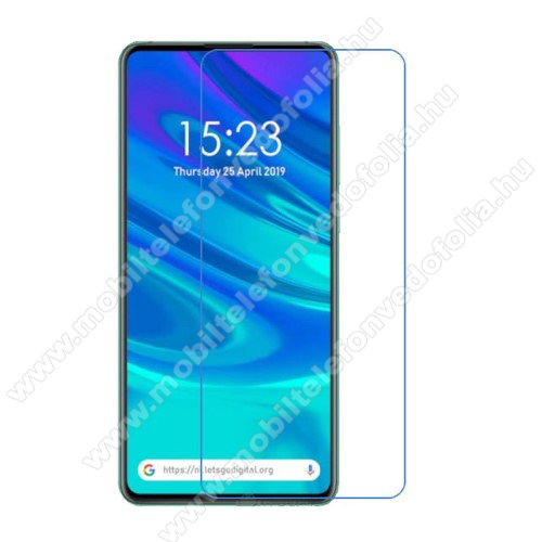 Képernyővédő fólia - Ultra Clear - 1db, törlőkendővel - HUAWEI P smart Pro (2019) / HUAWEI P Smart Z / HUAWEI Y9s / Honor 9X (Global) / Honor 9X (China) / Honor 9X Pro (China)
