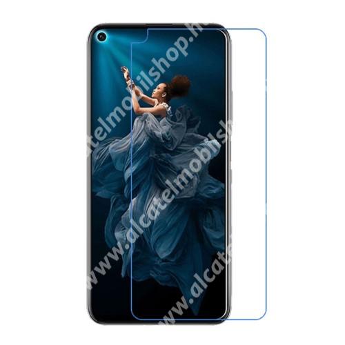 Képernyővédő fólia - Ultra Clear - 1db, törlőkendővel - HUAWEI Honor 20 / HUAWEI Honor 20 Pro
