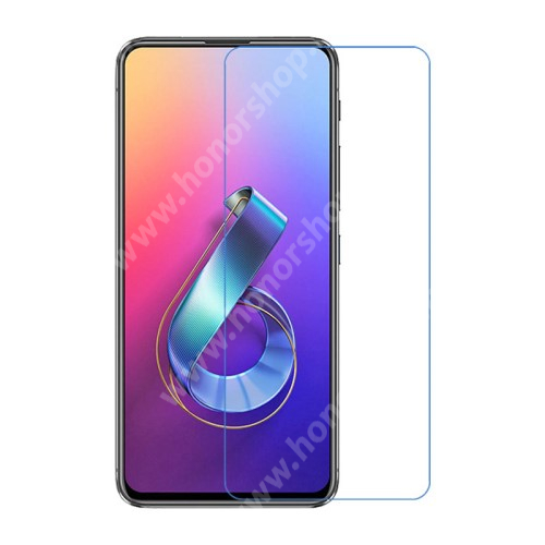Képernyővédő fólia - Ultra Clear - 1db, törlőkendővel - ASUS Zenfone 6 (ZS630KL)