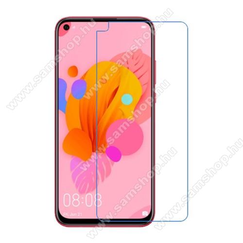 Képernyővédő fólia - Ultra Clear - 1db, törlőkendővel - HUAWEI P20 lite (2019) / P40 Lite 4G / nova 5i / Nova 7i / nova 6 SE