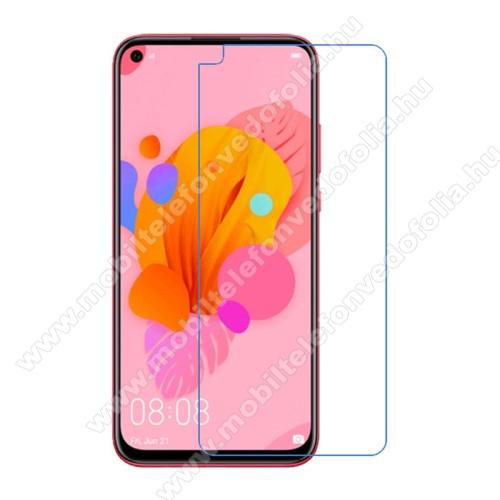 Képernyővédő fólia - Ultra Clear - 1db, törlőkendővel - HUAWEI P20 lite (2019) / HUAWEI P40 Lite / nova 5i / Nova 7i / nova 6 SE