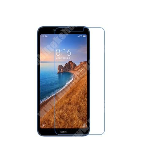 Képernyővédő fólia - Ultra Clear - 1db, törlőkendővel - Xiaomi Redmi 7A