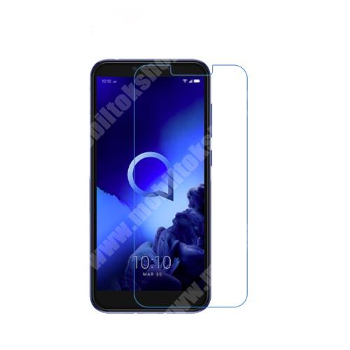 ALCATEL 1S (2019) Képernyővédő fólia - Ultra Clear - 1db, törlőkendővel - ALCATEL 1s