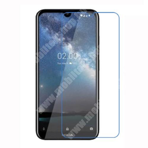 Képernyővédő fólia - Ultra Clear - 1db, törlőkendővel - NOKIA 2.2