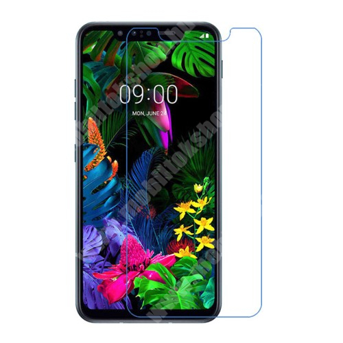 LG G8s ThinQ Képernyővédő fólia - Ultra Clear - 1db, törlőkendővel - LG G8s ThinQ