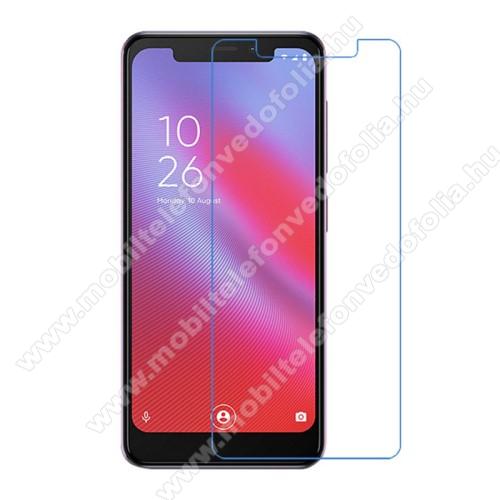 Képernyővédő fólia - Ultra Clear - 1db, törlőkendővel - Vodafone Smart N10