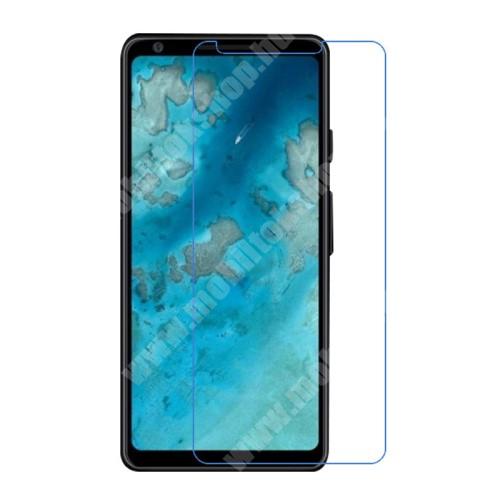 Képernyővédő fólia - Ultra Clear - 1db, törlőkendővel, A képernyő sík részét védi - Google Pixel 4