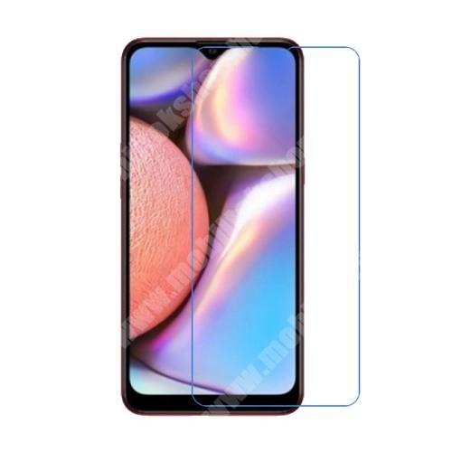 SAMSUNG SM-A107F Galaxy A10s Képernyővédő fólia - Ultra Clear - 1db, törlőkendővel, A képernyő sík részét védi - SAMSUNG SM-A107F Galaxy A10s