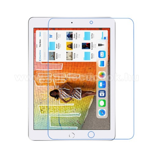 APPLE iPad 10.2 (7th Generation) (2019)Képernyővédő fólia - Ultra Clear - 1db, törlőkendővel - APPLE iPad 10.2 (7th Generation) (2019)