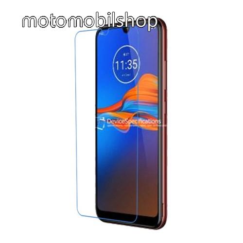 Képernyővédő fólia - Ultra Clear - 1db, törlőkendővel - MOTOROLA Moto E6 Plus