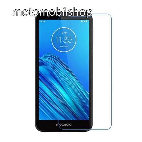 Képernyővédő fólia - Ultra Clear - 1db, törlőkendővel - MOTOROLA Moto E6