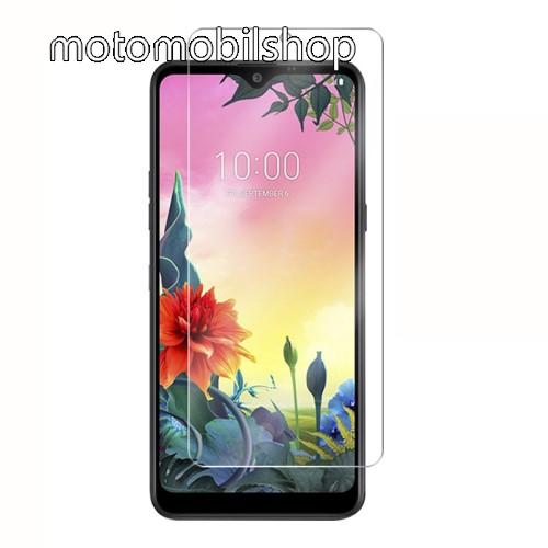 Képernyővédő fólia - Ultra Clear - 1db, törlőkendővel - LG K50S (2019)