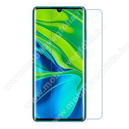Képernyővédő fólia - Ultra Clear - 1db, törlőkendővel - Xiaomi Mi Note 10 / Xiaomi Mi Note 10 Pro / Xiaomi Mi CC9 Pro