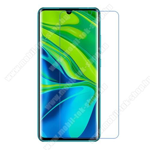 Képernyővédő fólia - Ultra Clear - 1db, törlőkendővel - Xiaomi Mi Note 10 / Xiaomi Mi Note 10 Pro / Xiaomi Mi CC9 Pro / Xiaomi Mi Note 10 Lite