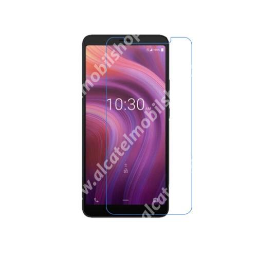 Képernyővédő fólia - Ultra Clear - 1db, törlőkendővel - ALCATEL 3V (2019)