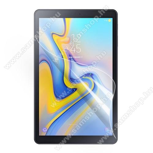 SAMSUNG Galaxy Tab A 10.5 LTE (SM-T595)Képernyővédő fólia - Ultra Clear - 1db, törlőkendővel, A képernyő sík részét védi - SAMSUNG SM-T590 Galaxy Tab A 10.5 Wi-Fi / SAMSUNG SM-T595 Galaxy Tab A 10.5 LTE
