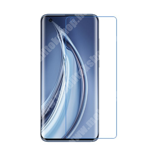 Képernyővédő fólia - Ultra Clear - 1db, törlőkendővel,  A képernyő sík részét védi! - Xiaomi Mi 10 5G / Xiaomi Mi 10 Pro 5G