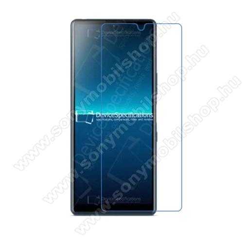 SONY Xperia L4 (2020)Képernyővédő fólia - Ultra Clear - 1db, törlőkendővel, A képernyő sík részét védi - SONY Xperia L4