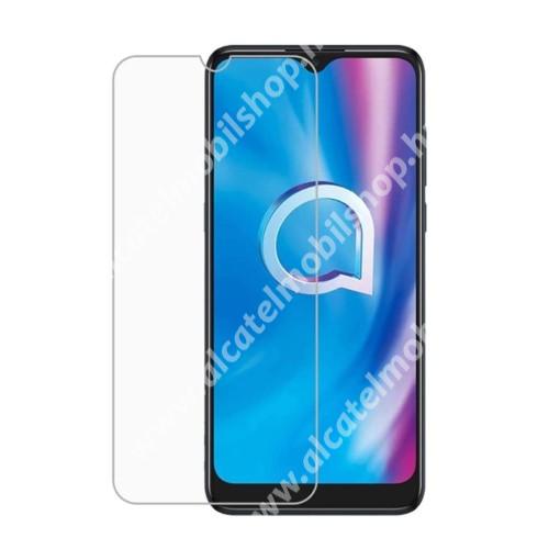 Képernyővédő fólia - Ultra Clear - 1db, törlőkendővel, A képernyő sík részét védi - ALCATEL 3X (2020) (5061U)