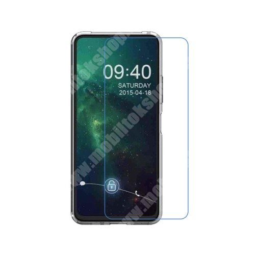 Képernyővédő fólia - Ultra Clear - 1db, törlőkendővel, A képernyő sík részét védi - ASUS Zenfone 7 (ZS670KS) / ASUS Zenfone 7 Pro (ZS671KS)
