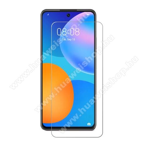 HUAWEI Honor 10X LiteKépernyővédő fólia - Ultra Clear - 1db, törlőkendővel, A képernyő sík részét védi - HUAWEI P smart (2021) / HUAWEI Y7a / Honor 10X Lite
