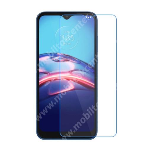 Képernyővédő fólia - Ultra Clear - 1db, törlőkendővel, A képernyő sík részét védi! - MOTOROLA Moto E7 / Moto G10 / Moto G30 / Moto G10 Power / Moto G50