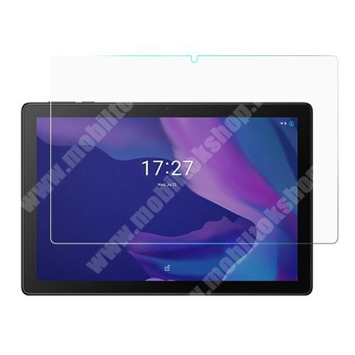 Képernyővédő fólia - Ultra Clear - 1db, törlőkendővel, A képernyő sík részét védi - Alcatel 1T 10 (2020)