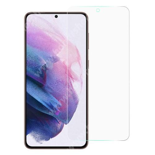 Képernyővédő fólia - Ultra Clear - 1db, törlőkendővel, A képernyő sík részét védi - SAMSUNG Galaxy S21 FE (SM-G990B, SM-G990B/DS)