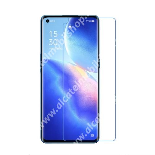 Képernyővédő fólia - Ultra Clear - 1db, törlőkendővel, A képernyő sík részét védi - Oppo Reno5 K / Reno5 4G / Reno5 5G / Find X3 Lite