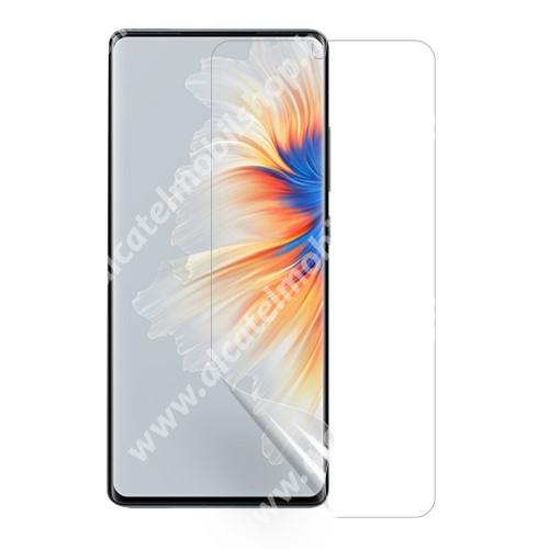 Képernyővédő fólia - Ultra Clear - 1db, törlőkendővel, A képernyő sík részét védi - Xiaomi Mix 4
