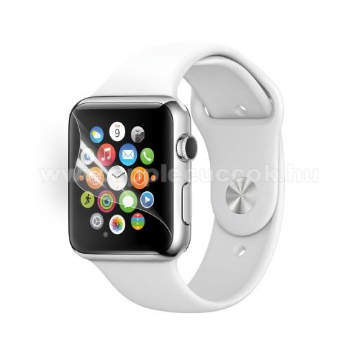 APPLE Watch Series 1 38mmKépernyővédő fólia - Ultra Clear - 1db, törlőkendővel - Apple Watch 38mm
