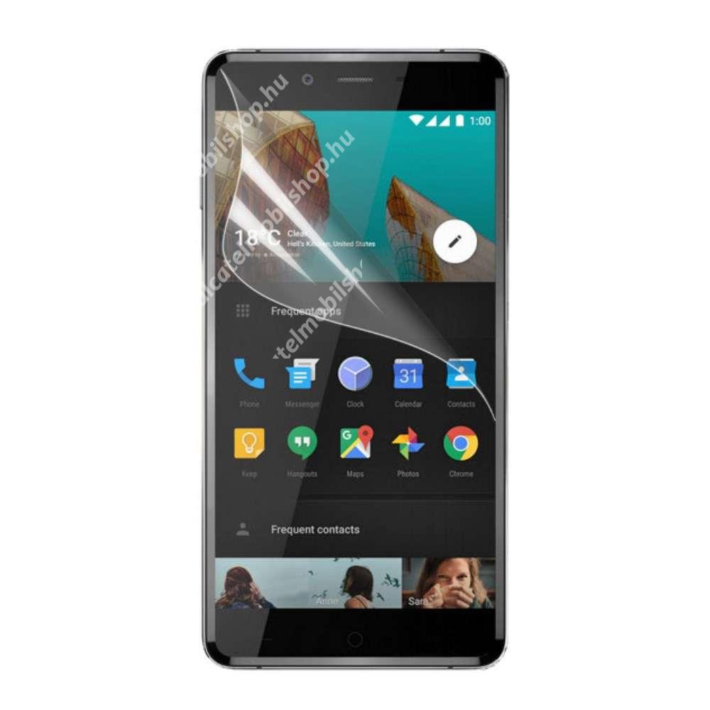 Képernyővédő fólia - Ultra Clear - 1db, törlőkendővel - OnePlus X