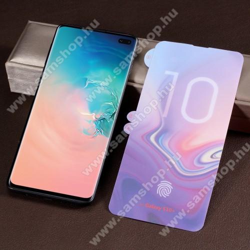 Képernyővédő fólia - Ultra Clear, PET (műanyag), 1db, A TELJES KÉPERNYŐT VÉDI! - SAMSUNG SM-G975F Galaxy S10+