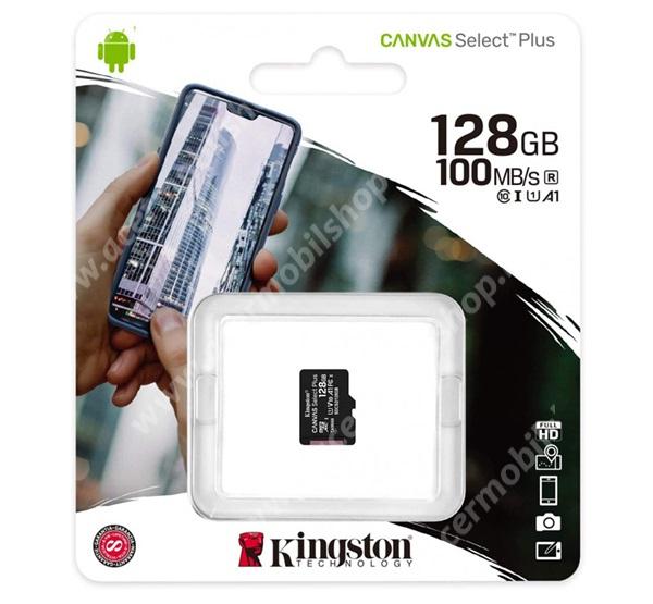 ACER Liquid X1 KINGSTON MEMÓRIAKÁRTYA TransFlash 128GB - SDCS2/128GBSP - microSDXC Canvas Select Plus - Class 10, UHS-1, A1 - GYÁRI