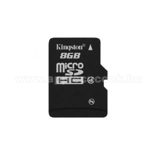 KINGSTON MICROSDHC MEM�RIA K�RTYA 8 GB (Class 4) - ADAPTER N�LK�L!