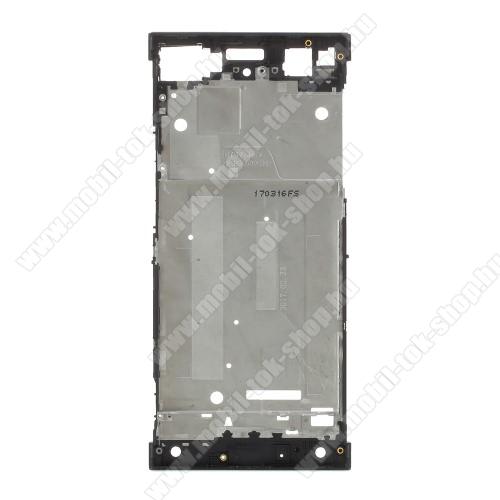 Középső keret - FEKETE - Sony Xperia XA1 - GYÁRI