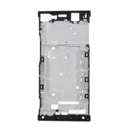Középső keret - FEKETE - SONY Xperia XA1 Ultra (G3221 / G3223 / G3212 / G3226) - GYÁRI