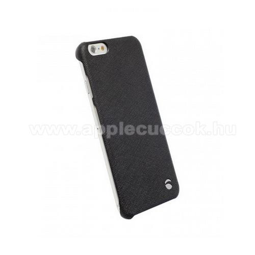 APPLE iPhone 6KRUSELL TextureCover MALMÖ műanyag védő tok / hátlap - 89984 - FEKETE - APPLE IPhone 6 - GYÁRI
