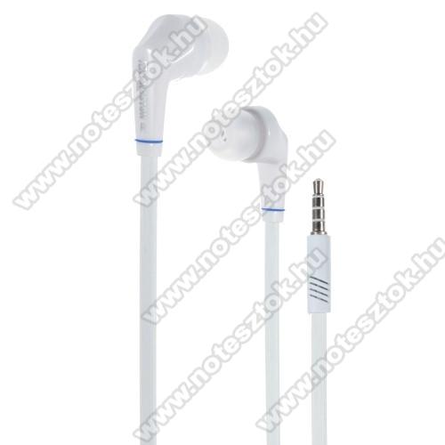 NOKIA 7.1Langston JD88 univerzális sztereo headset - 3,5mm jack csatlakozó - FEHÉR