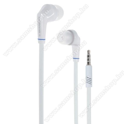 SAMSUNG SM-T835 Galaxy Tab S4 10.5 (LTE)Langston JD88 univerzális sztereo headset - 3,5mm jack csatlakozó - FEHÉR
