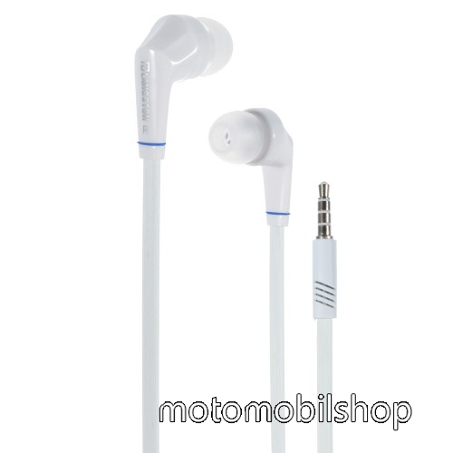 MOTOROLA Moto G8 Plus Langston JD88 univerzális sztereo headset - 3,5mm jack csatlakozó - FEHÉR